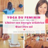 YOGA DU FEMININ – Atelier à thème
