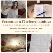 Formation à l'écriture intuitive via Zoom – soirée 4/4