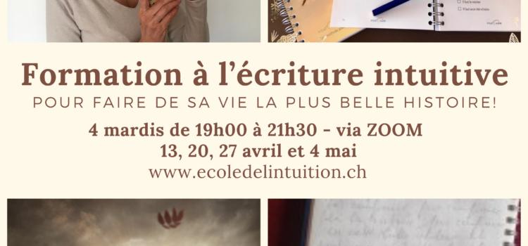 Atelier écriture intuitive via Zoom – soirée 4/4